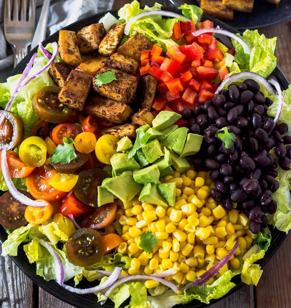 Southwestern Tofu Salad
