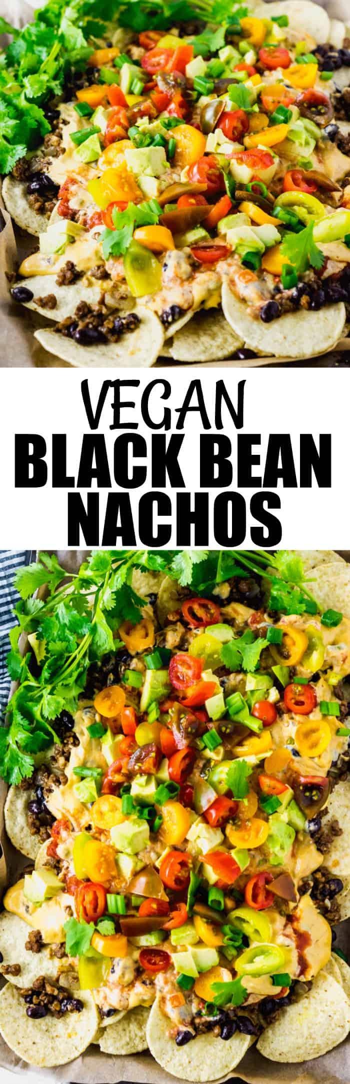 Vegan Black Bean Nachos