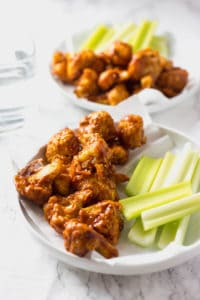 Easy to Make Barbecue Cauliflower Wings - Healthier Steps