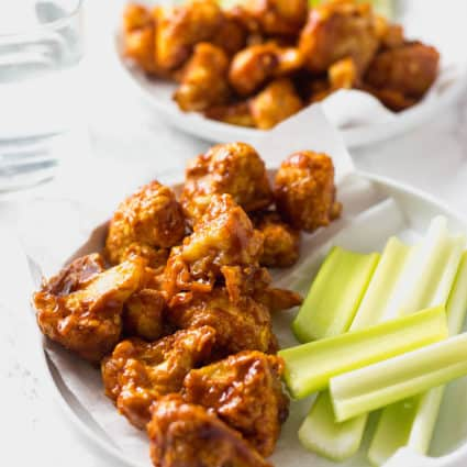 Easy to Make Barbecue Cauliflower Wings