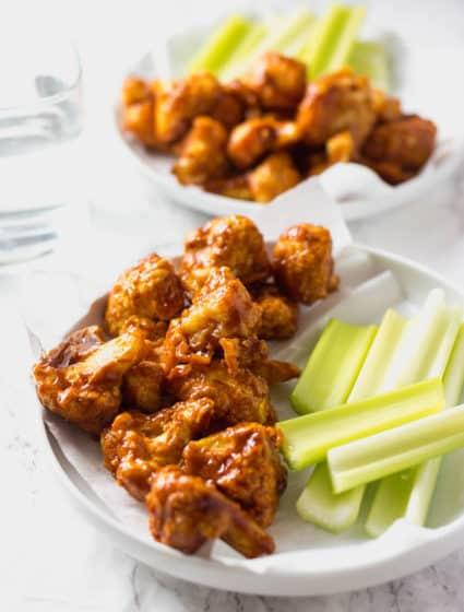 Barbecue Cauliflower Wings (Vegan, Gluten-Free)