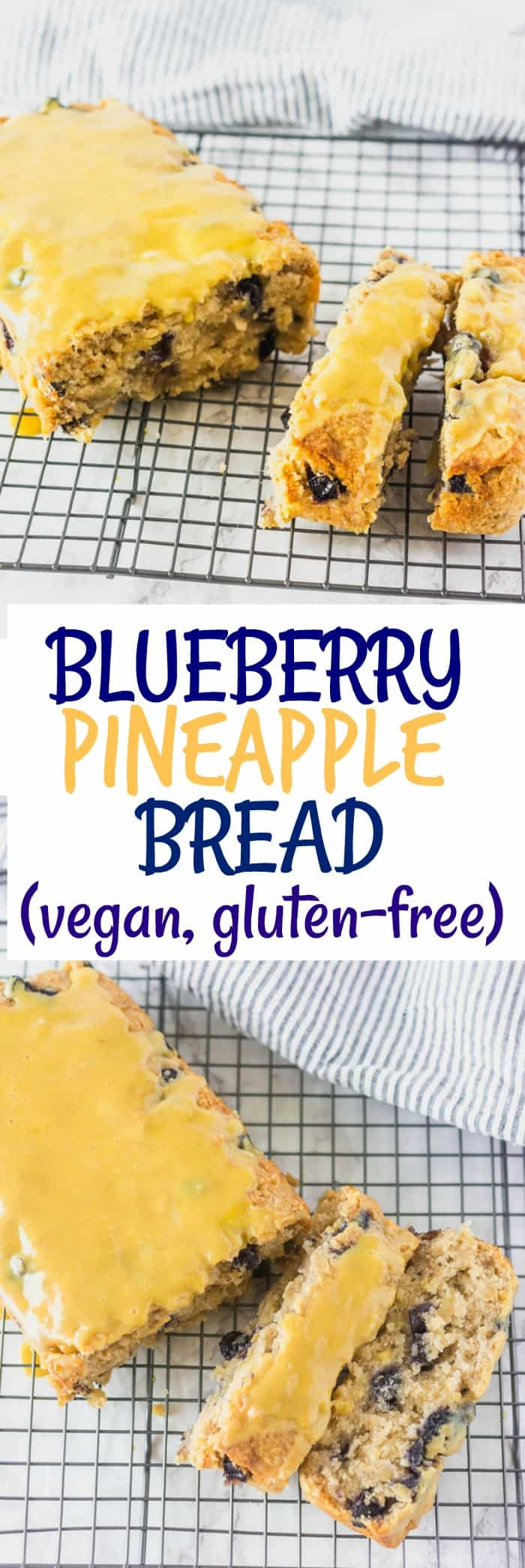 Blueberry Pineapple Bread