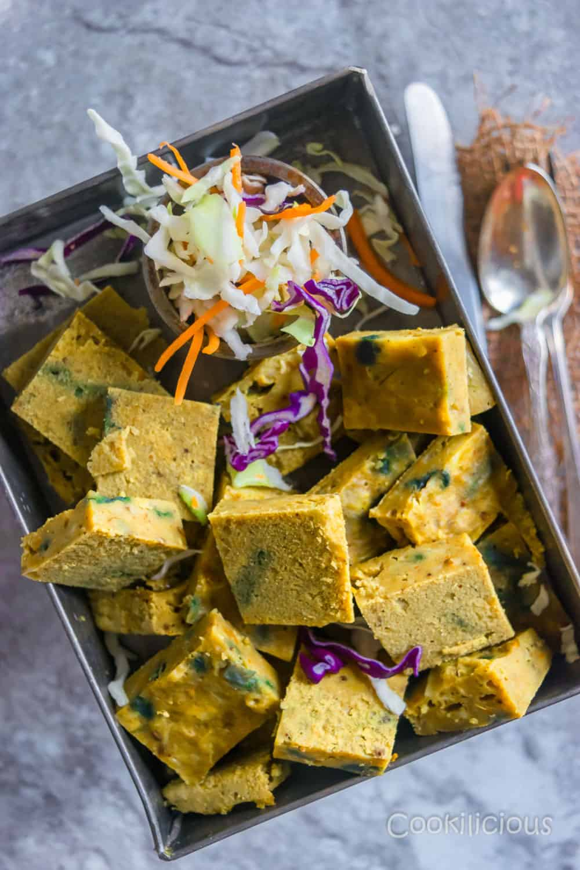 Kobichi Vadi/Steamed Cabbage Cakes