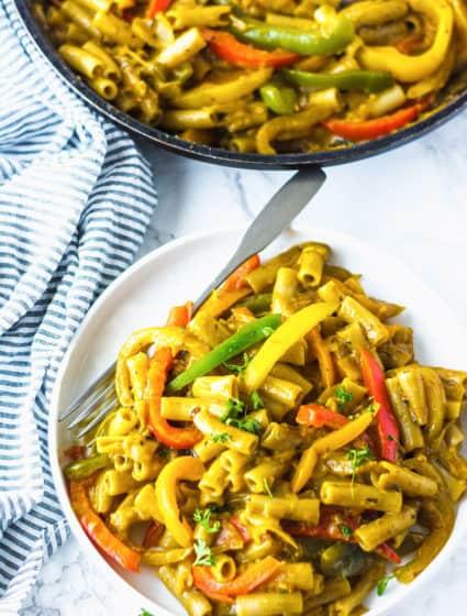 Vegan Rasta Pasta Recipe