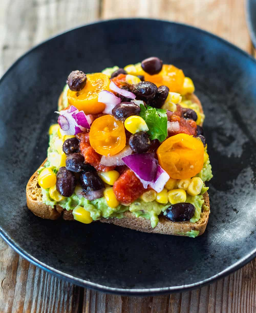 Southwestern Avocado Toast