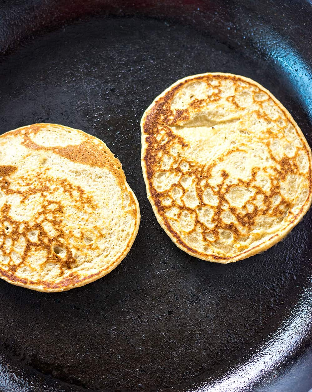 Pancakes Made With Banana And Oatmeal