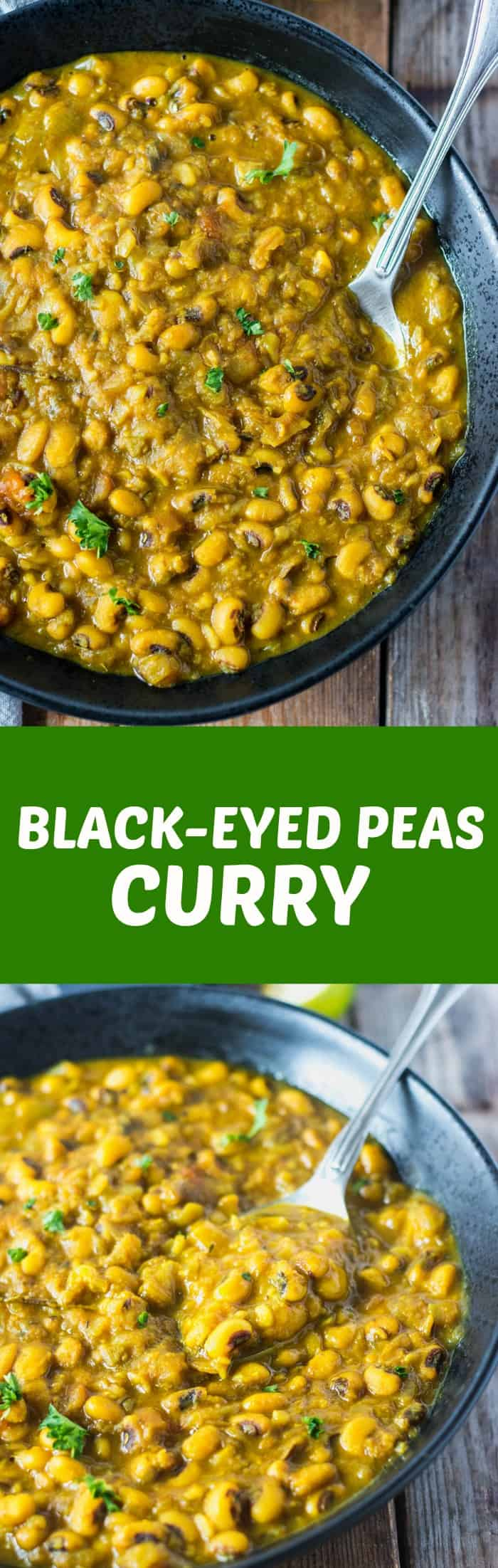 Indian Black-Eyed Peas Curry