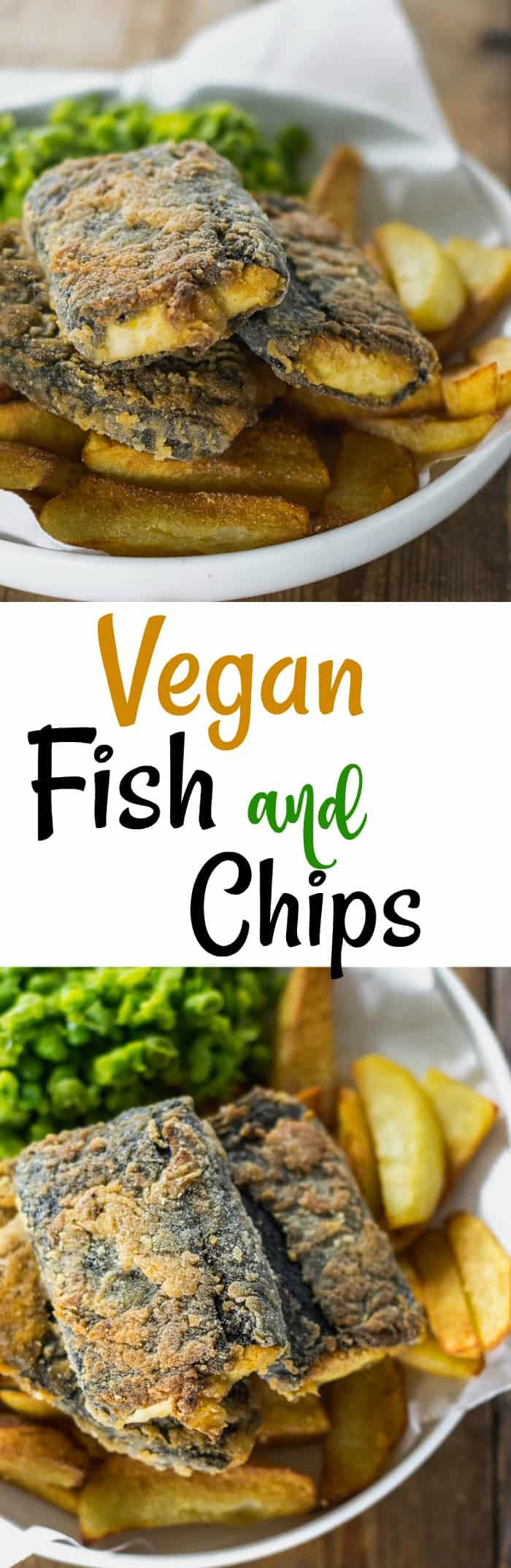 Vegan Fish and Chips Pin