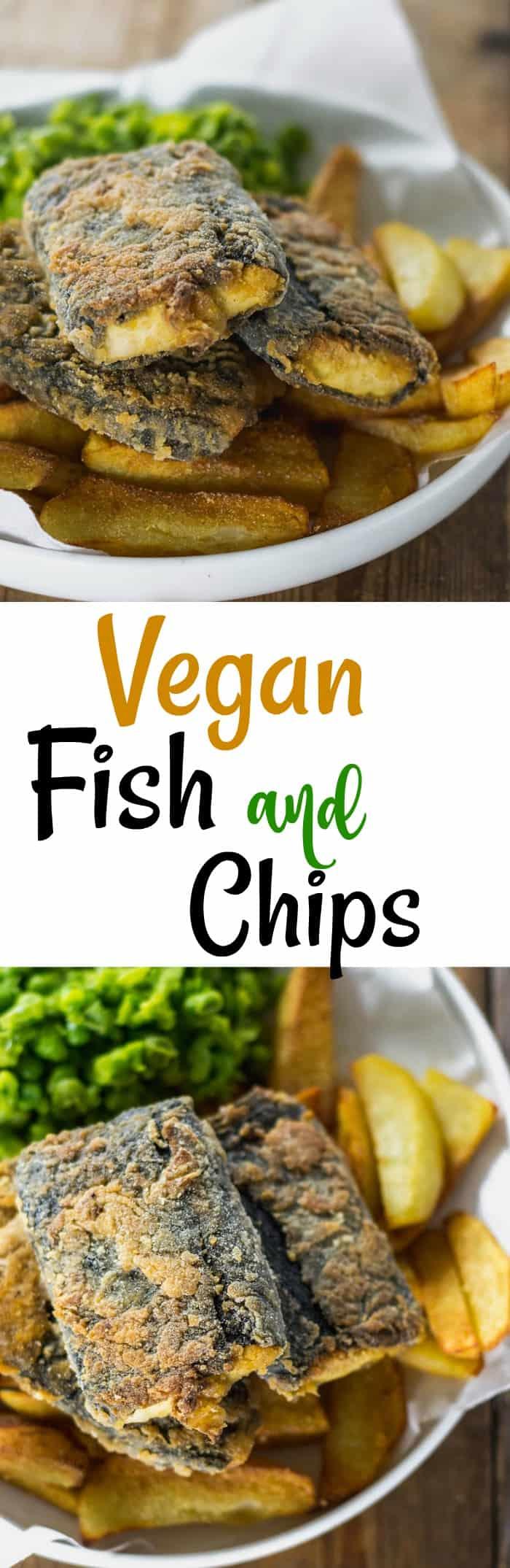 Vegan Fish and Chips Pin