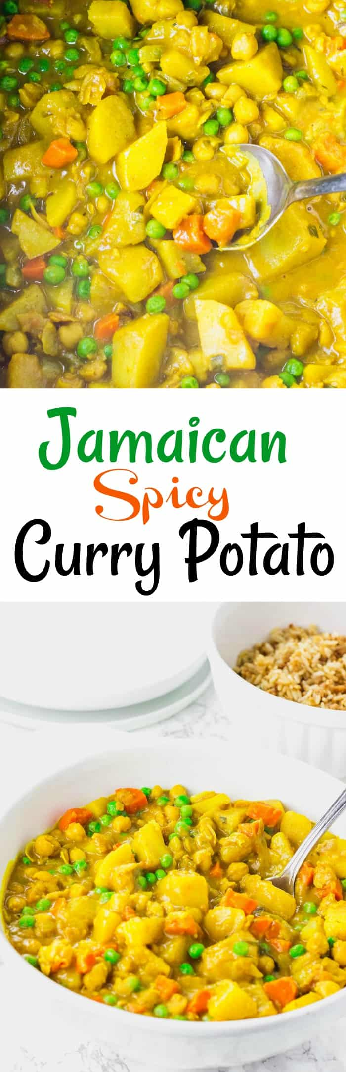 Jamaican Spicy Curry Potato
