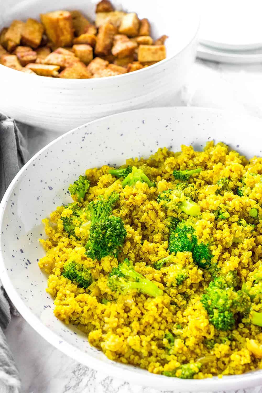Curry Quinoa Broccoli Recipe