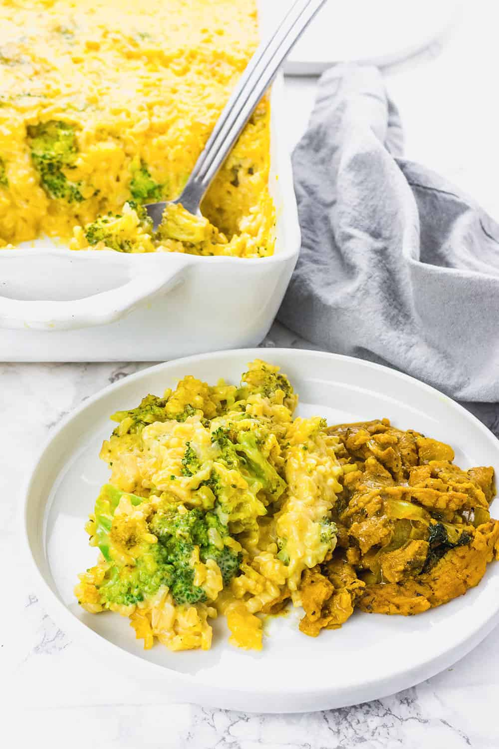 Vegan Casserole Recipes Broccoli Rice