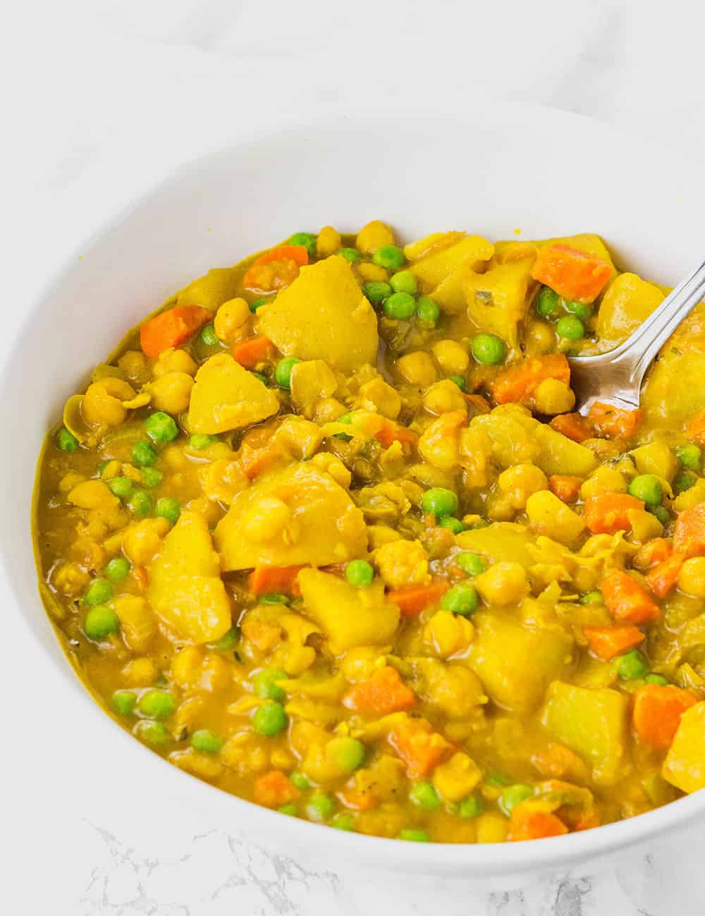 Jamaican Spicy Potato Curry Vegan Healthier Steps