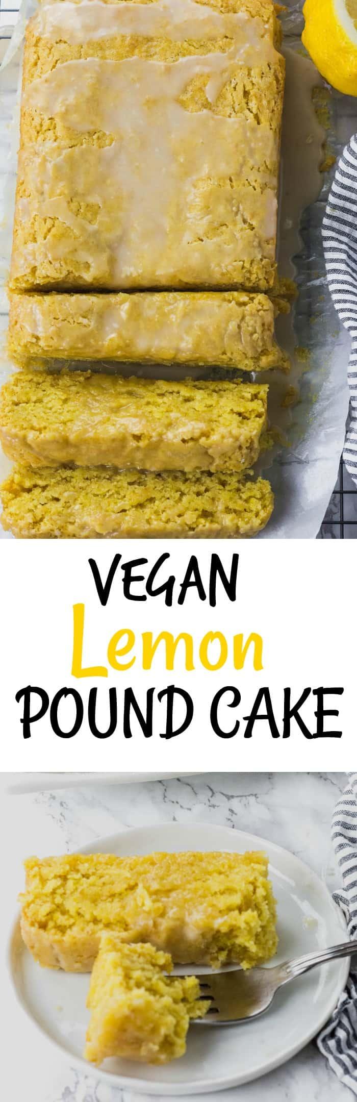 Vegan Lemon Pound Cake Pin