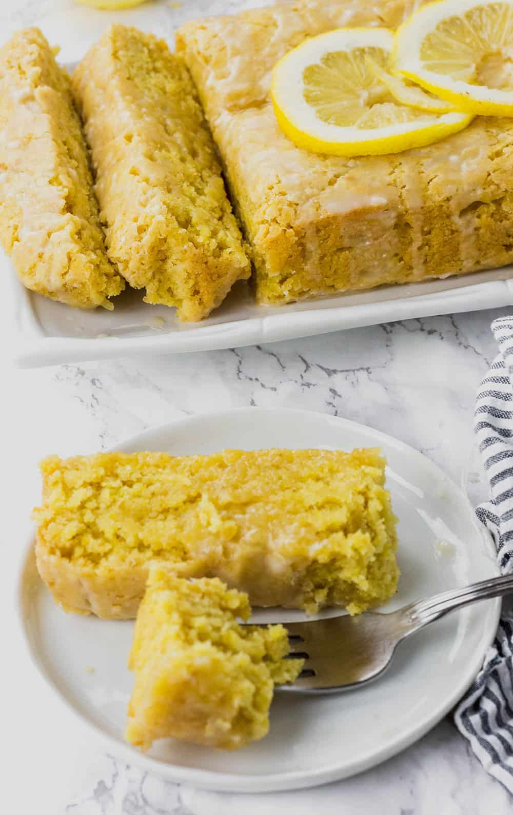 Gluten-Free Vegan Lemon Pound Cake