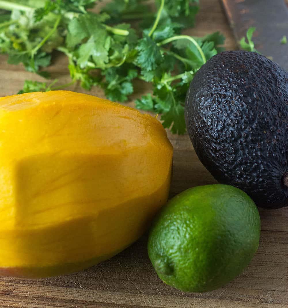 Mango Avocado Salsa Ingredients