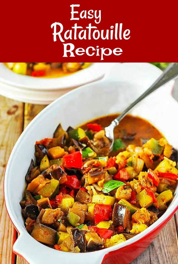 Easy Ratatouille Recipe Pin
