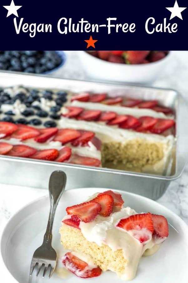 Vegan Gluten-Free Cake Recipe