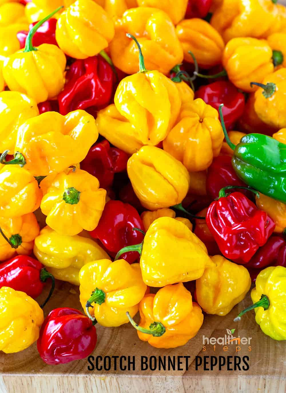 Jerk Sauce Scotch Bonnet Peppers