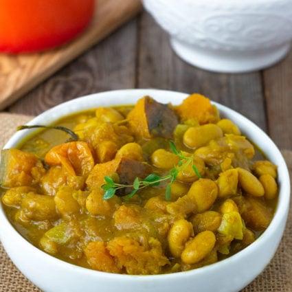 Jamaican Pumpkin Curry