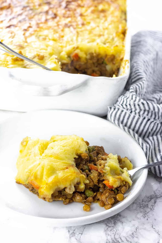 Easy Lentil Shepherd's Pie