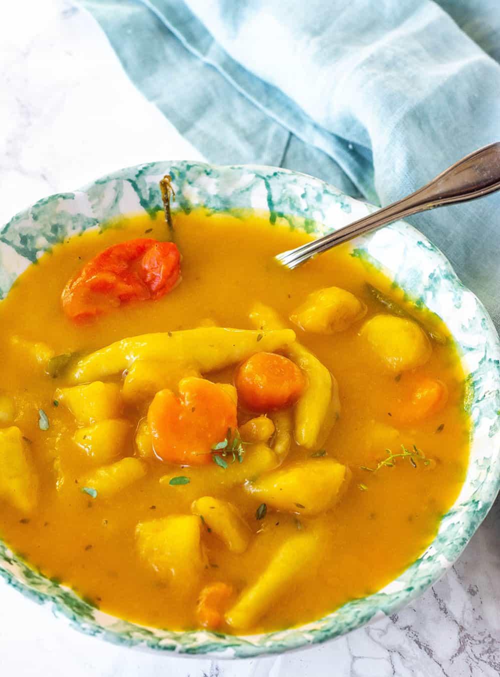Jamaican Vegan Pumpkin Soup