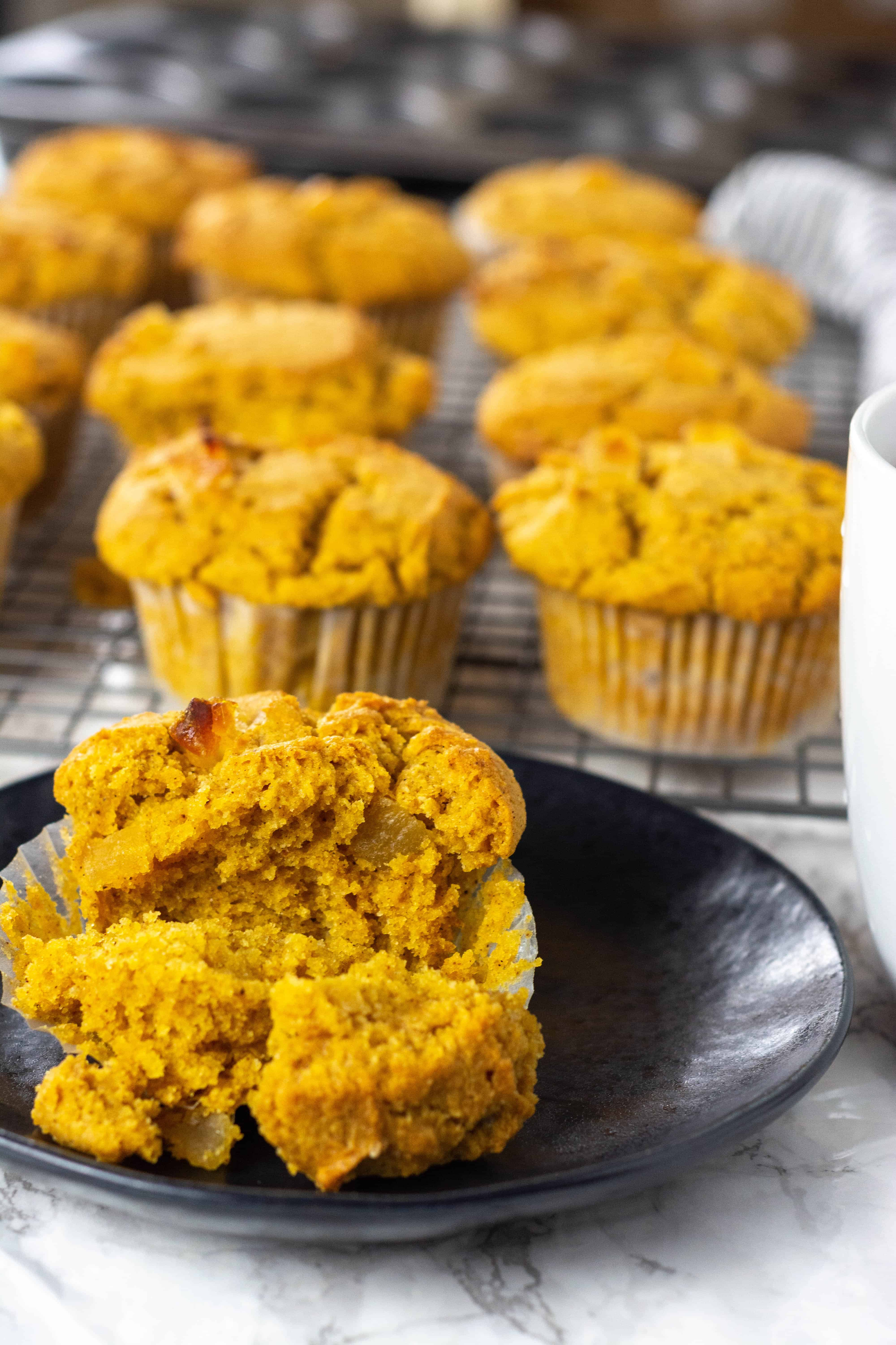 Best Vegan Pumpkin Muffins