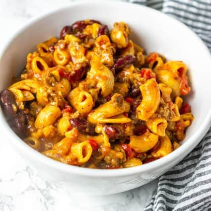 Instant Pot Vegan Chili Mac And Cheese