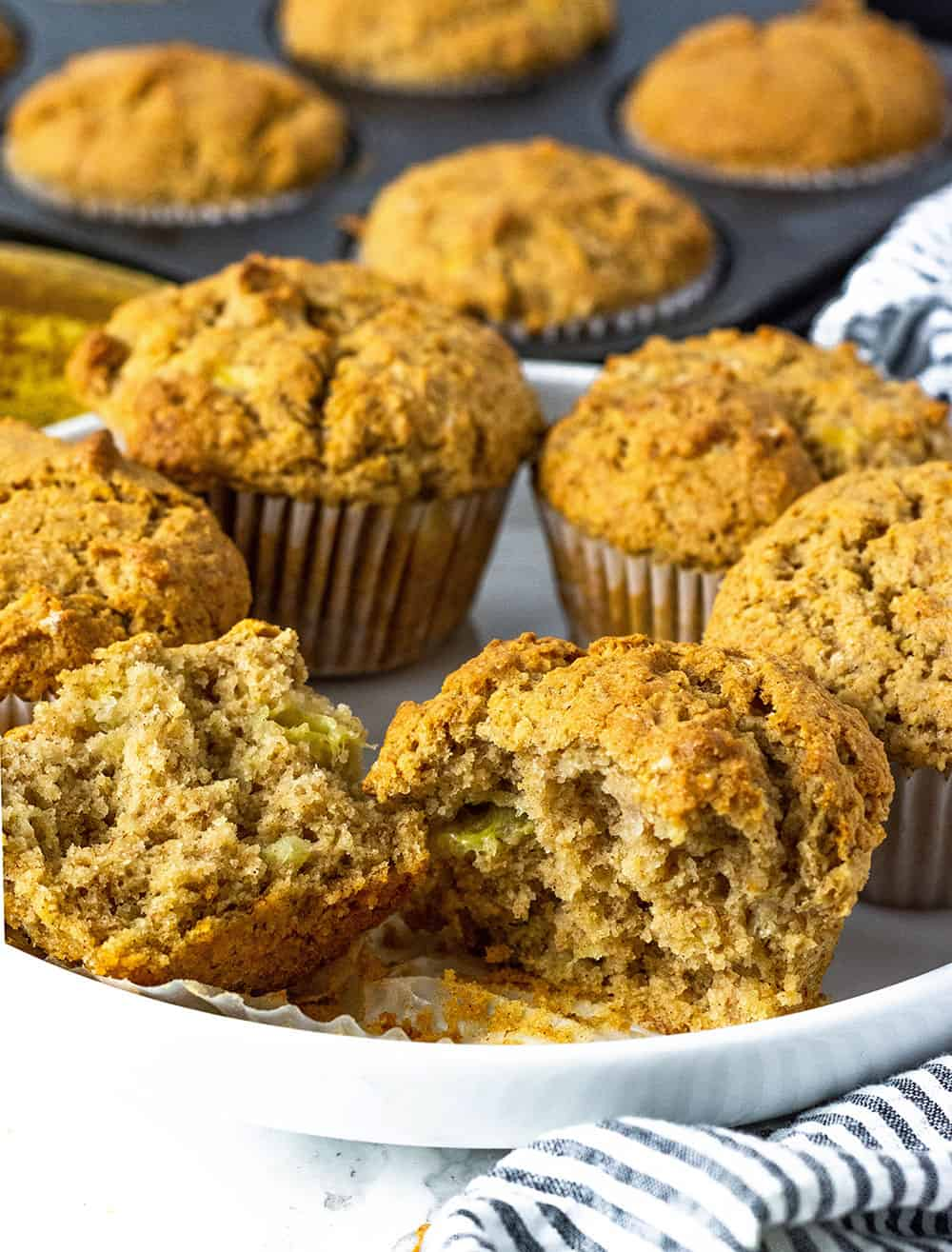 Healthy Vegan Banana Muffins