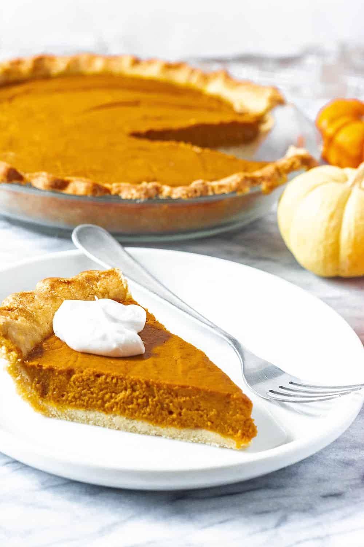 Best Gluten-Free Vegan Pumpkin Pie
