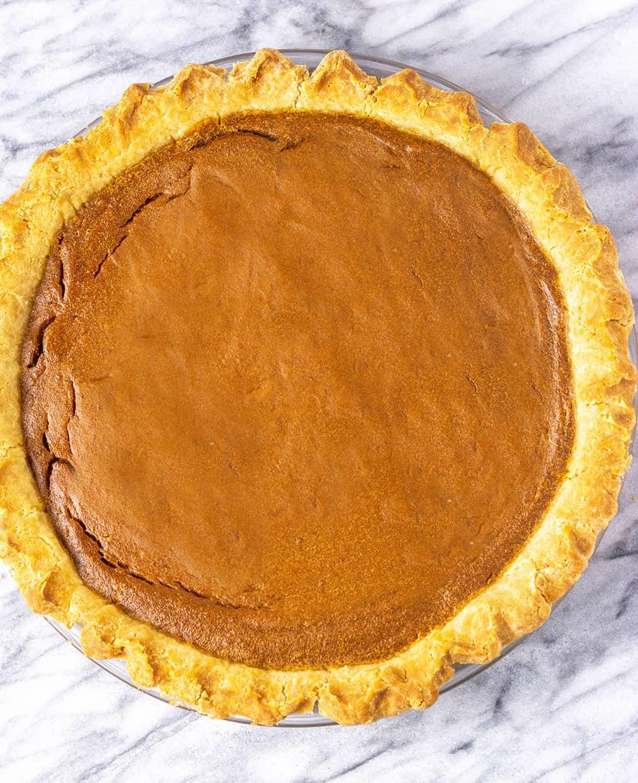Gluten=Free Vegan Pumpkin Pie
