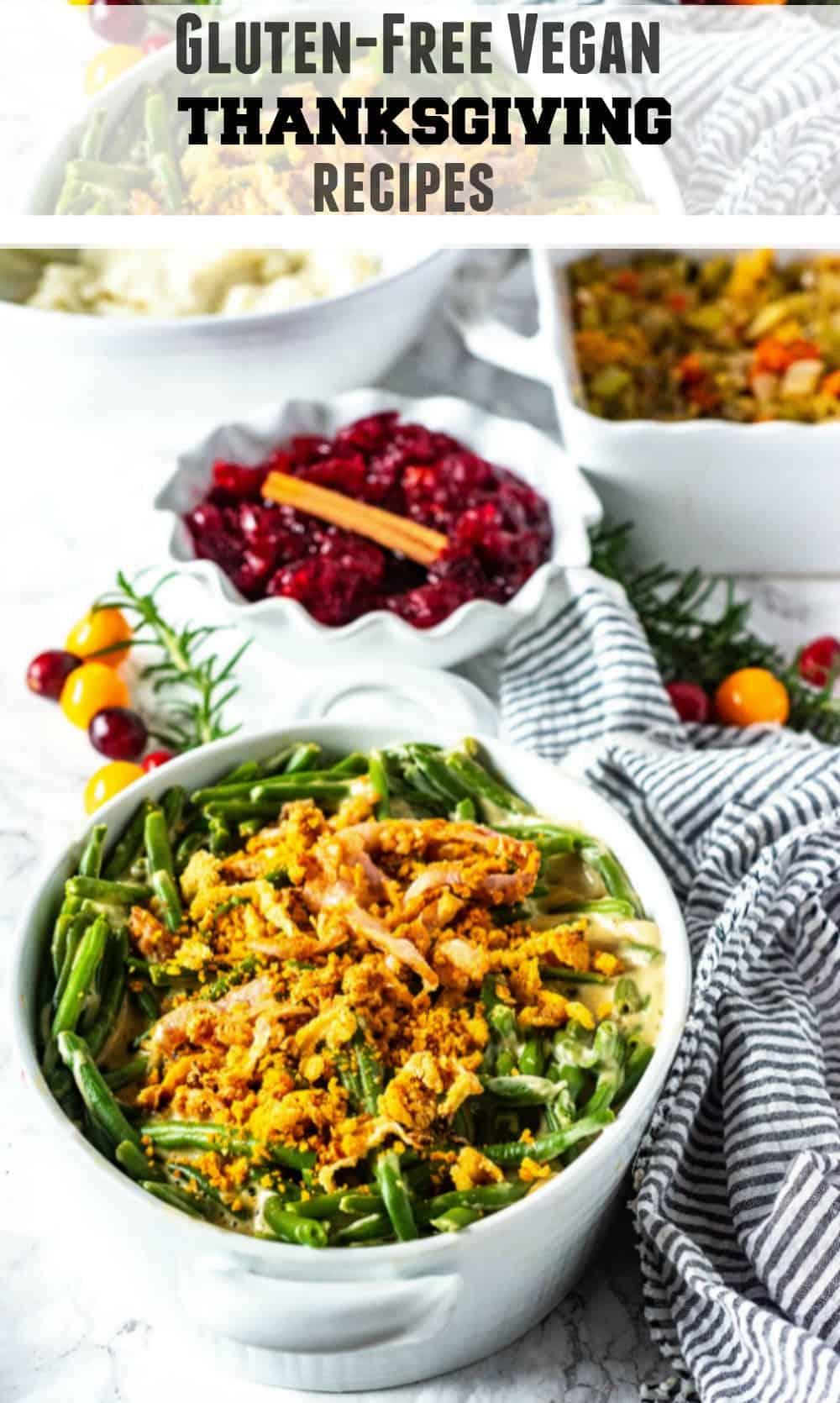 Gluten-Free Vegan Thanksgiving Recipes