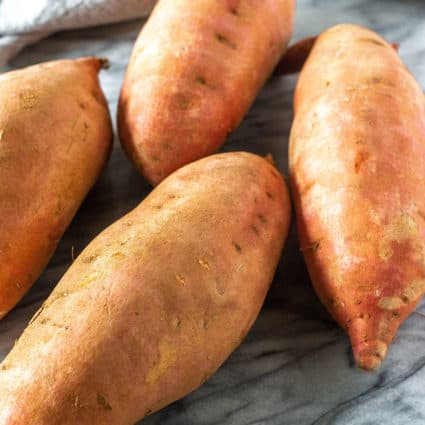 How To Bake Sweet Potatoes