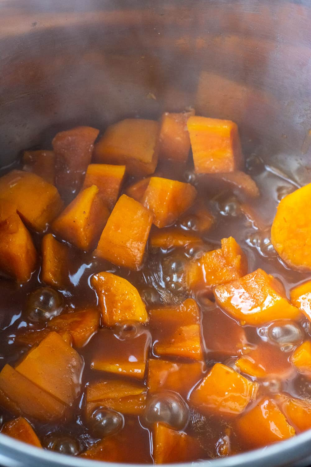 Instant Pot Candied Yams Healthier Steps