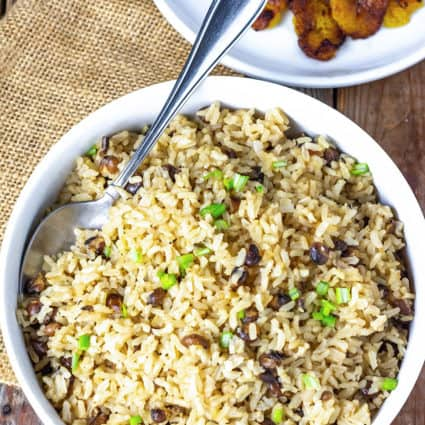 Jamaican Rice And Pigeon Peas