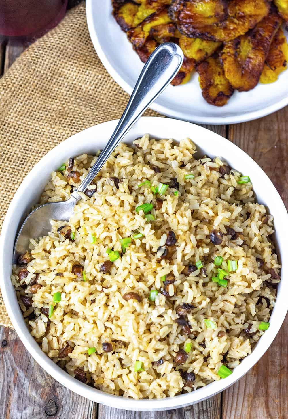 Jamaican Rice And Pigeon Peas
