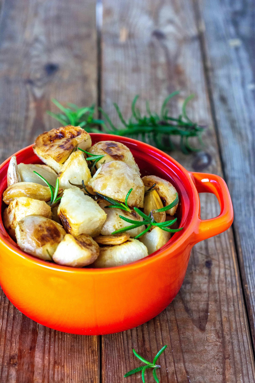 Roasted Turnips With Garlic
