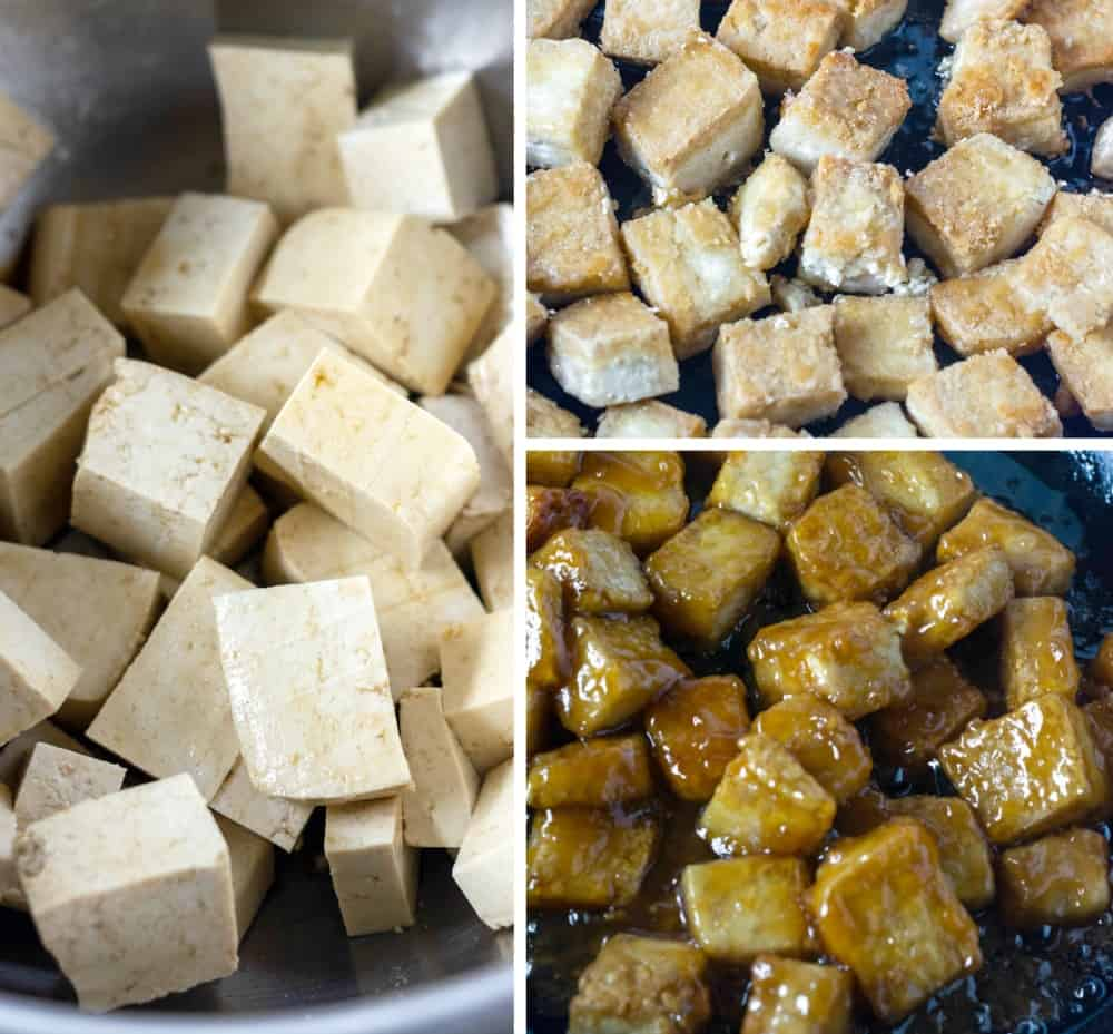 Sesame Tofu Recipe Steps