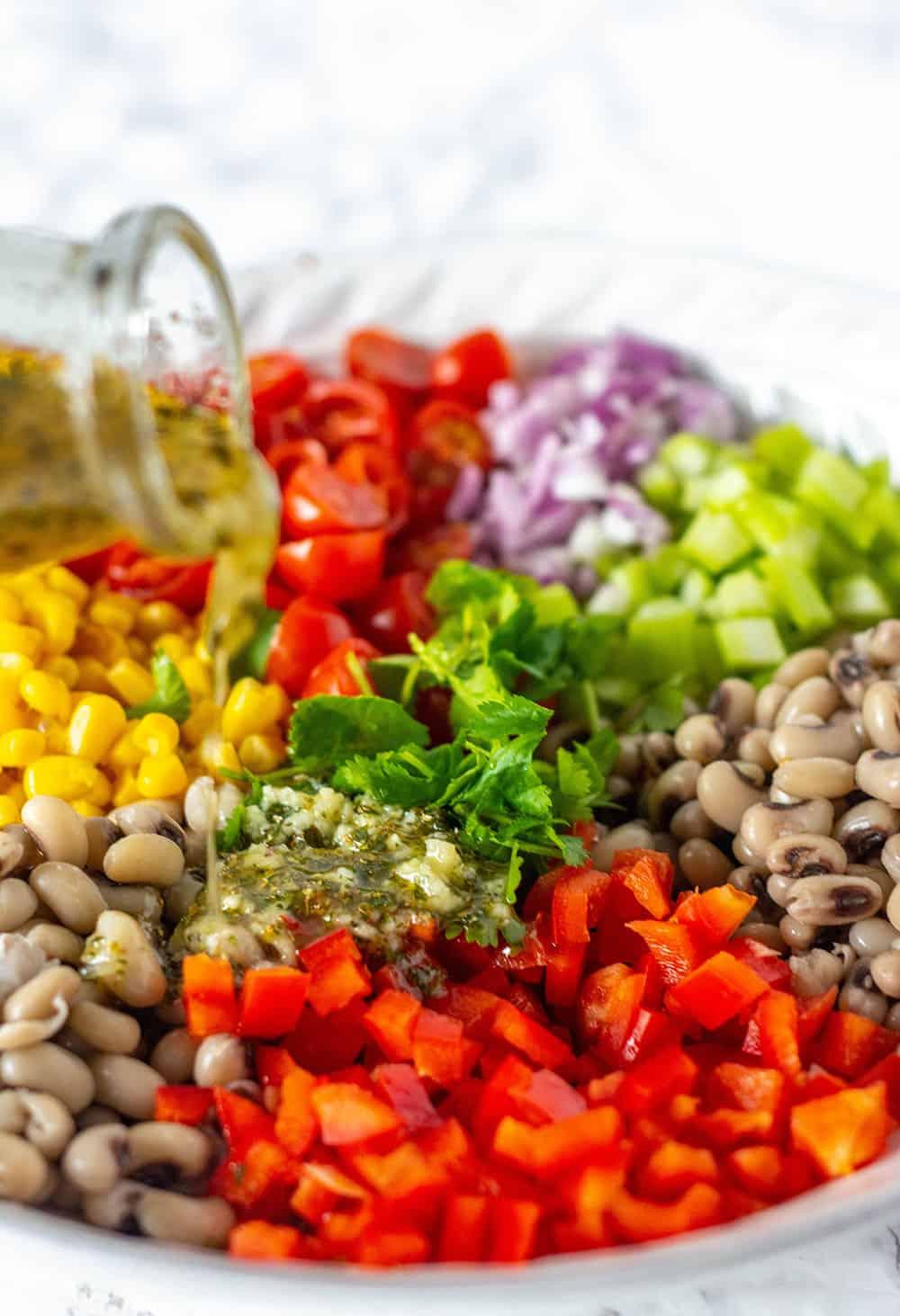 Black-Eyed Peas Salad Recipe Ingredients