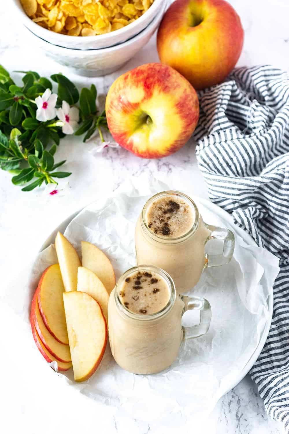 Best Apple Pie Smoothie