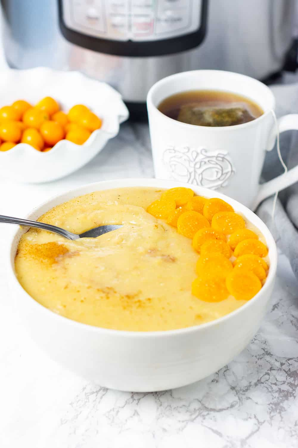 Instant Pot Cornmeal Porridge