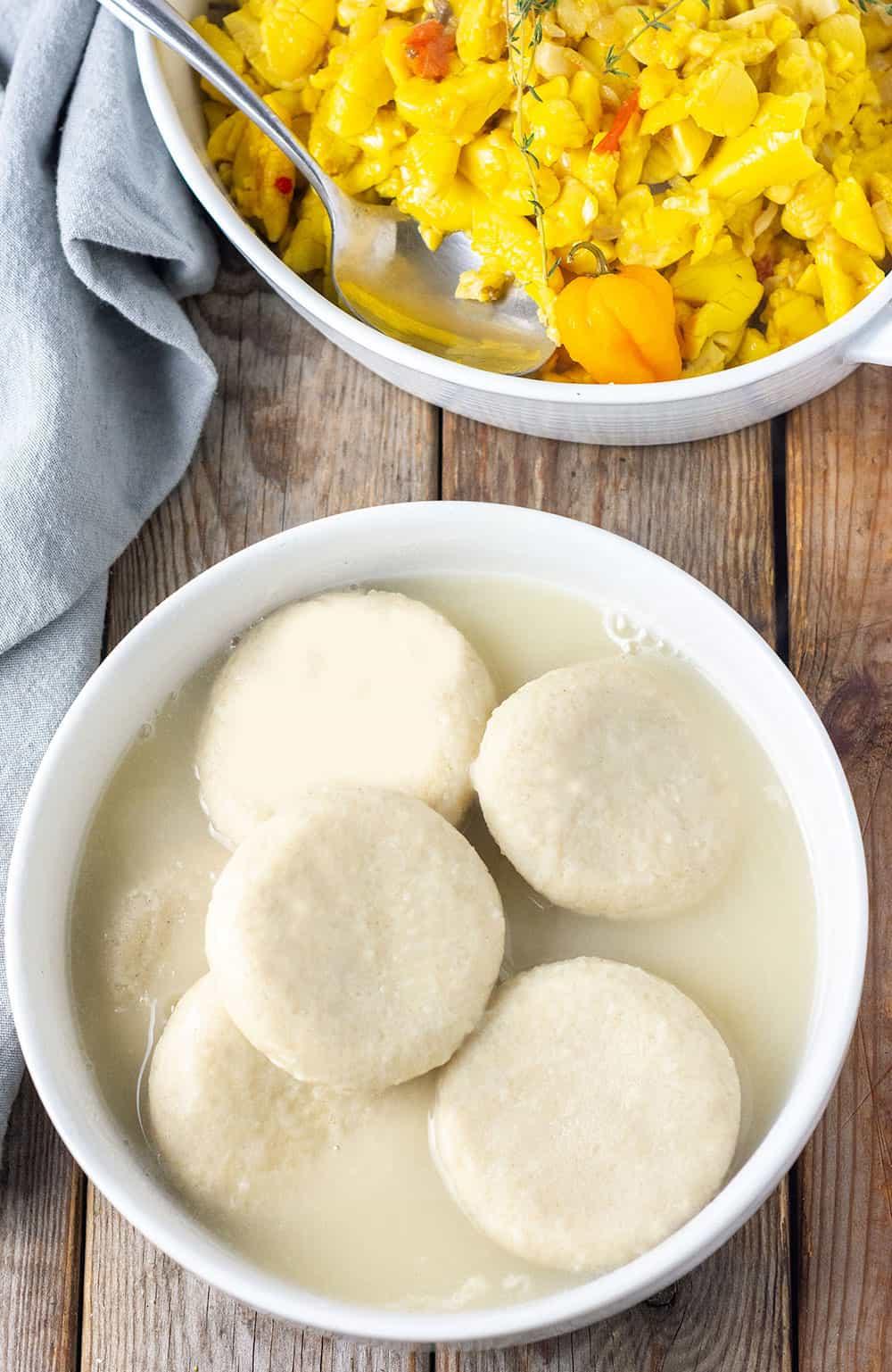 Jamaican Boiled Dumplings