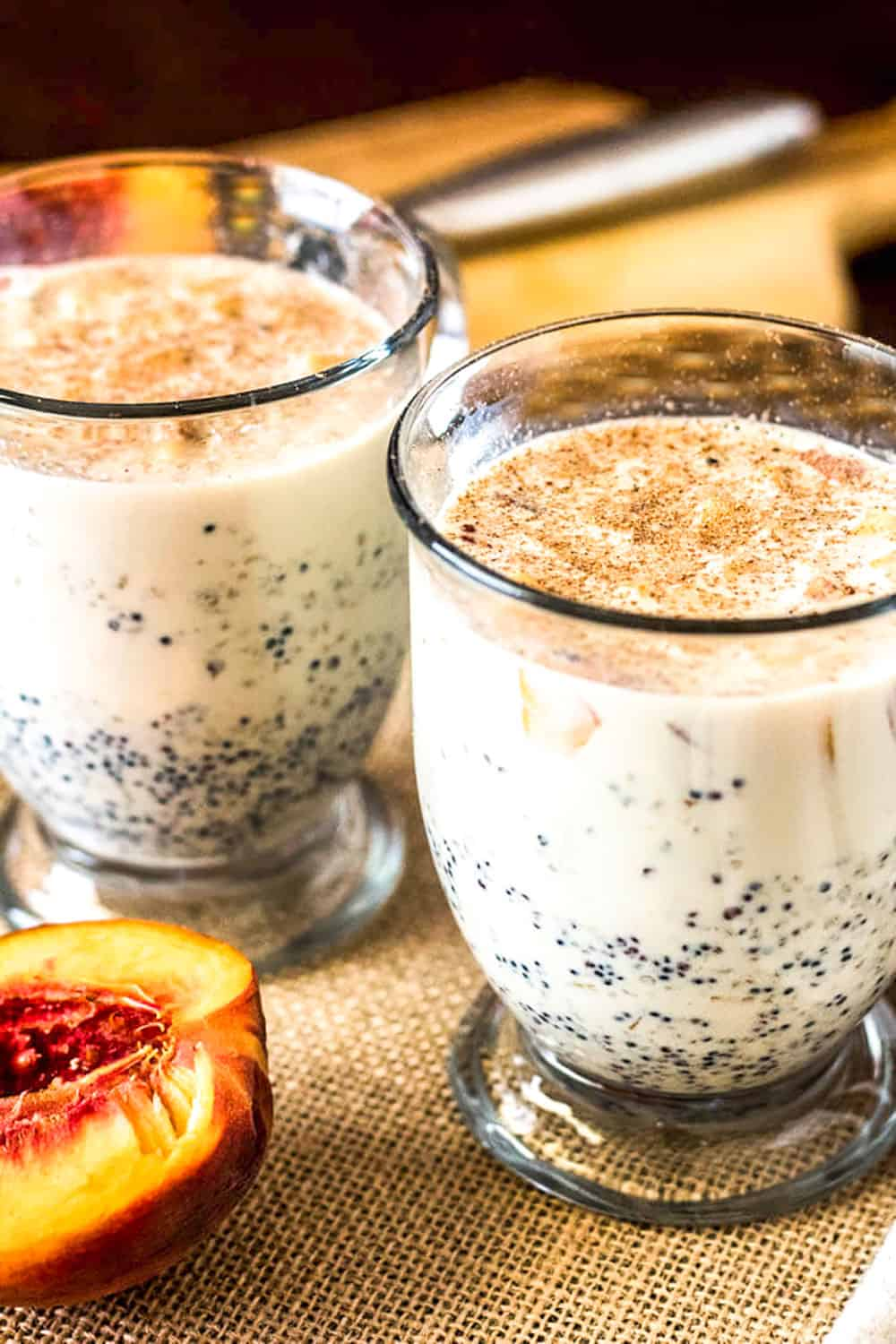 Peruvian Quinoa Porridge In Glasses