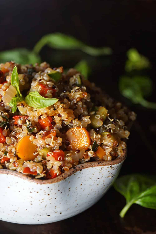 Smoky Lemon Vegetable Quinoa