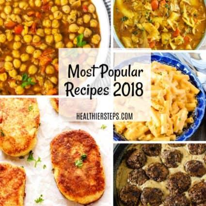 Top 10 Most Popular Recipes Of 2018