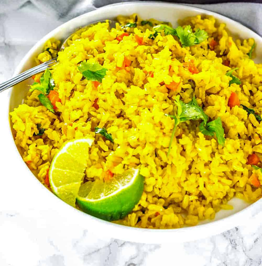 Turmeric Coconut Rice