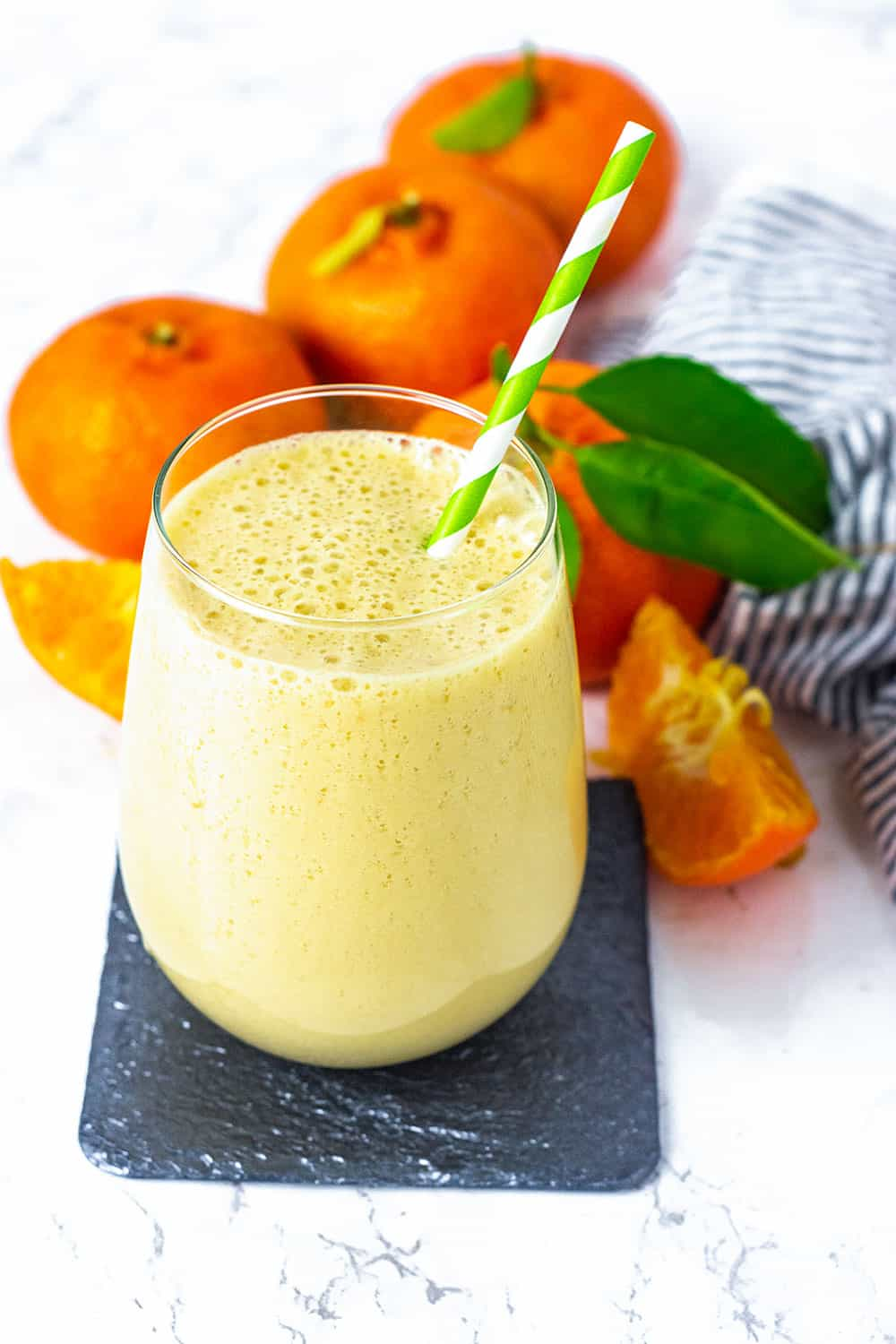Vegan Orange Creamsicle Smoothie