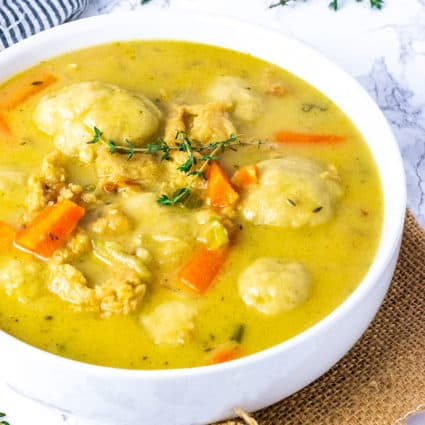 Instant Pot Vegan Chicken And Dumplings