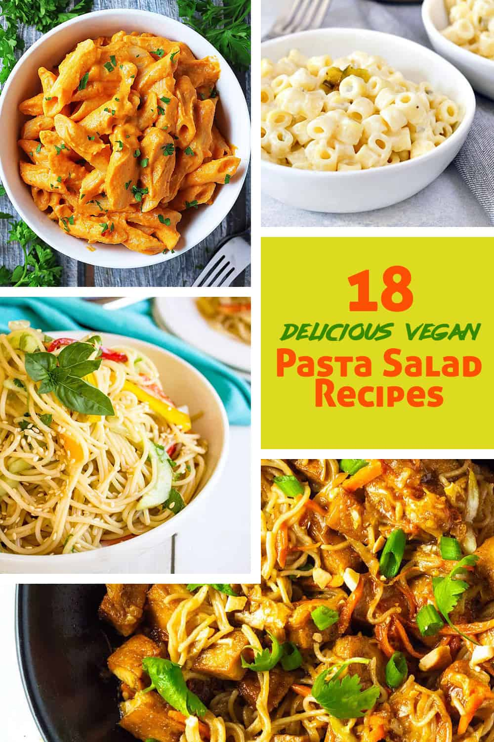 18 Vegan Pasta Salad Recipes