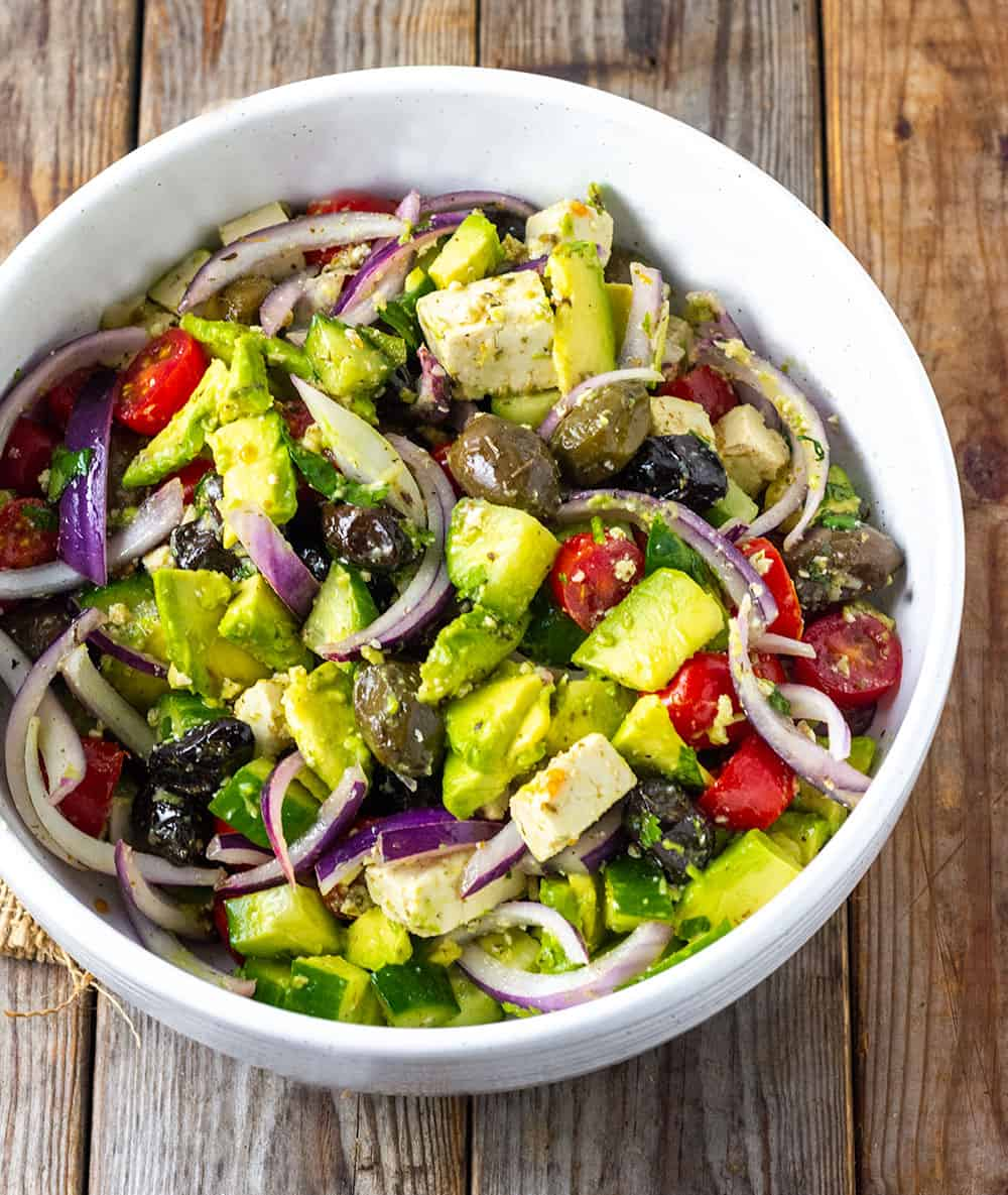 Vegan Greek Salad